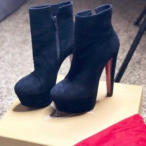 New Christian Louboutin Stiletto Booties